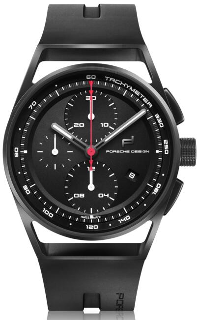 Porsche Design 1919 CHRONOTIMER BLACK RUBBER 4046901418250 watch Replica