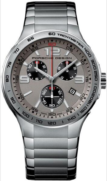 Porsche Design Flat Six Quartz Chronograph 6320.4124.0250 watch for sale