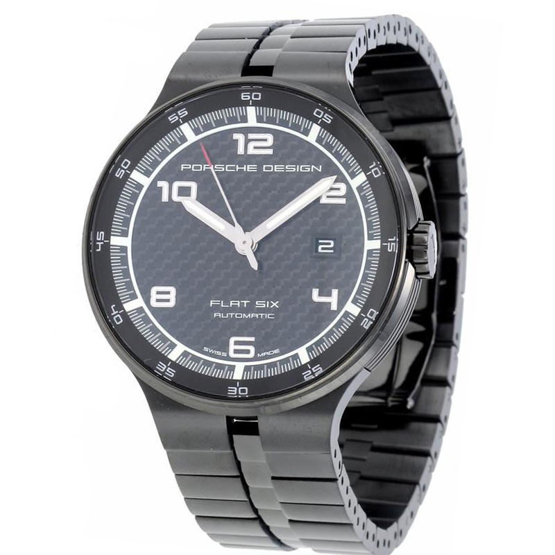 Porsche Design Flat Six P'6350 Calendar Automatic 6350.43.04.0275 watch for sale