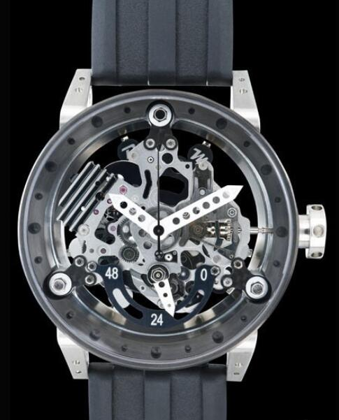 B.R.M Watches Replica Watch B.R.M R50-TN-AB Titanium - Black PVD