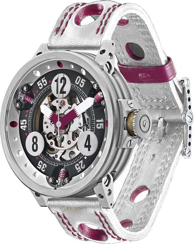 BRM RG 46 RACING Replica Watch BRM RG-46 Team Qatar RG-46-TEAM-QATAR-V1B