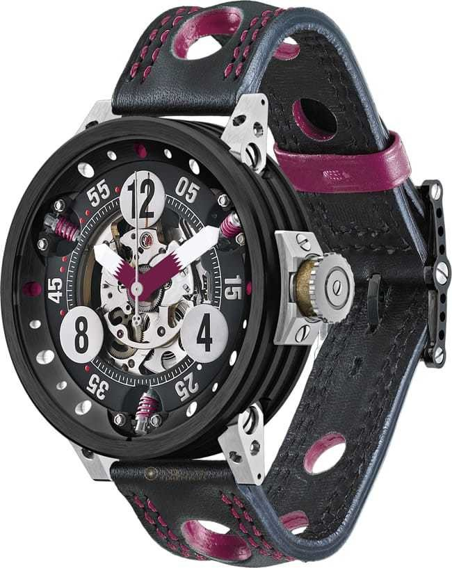 BRM RG 46 RACING Replica Watch BRM RG-46 Team Qatar RG-46-TEAM-QATAR-V4