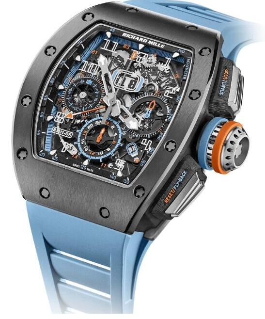 Cheapest RICHARD MILLE Replica Watch RM 11-05 Automatique Chronographe Flyback GMT Price