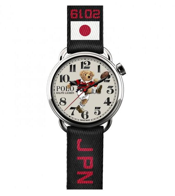 Ralph Lauren Polo Kicker Bear watches 472779385001