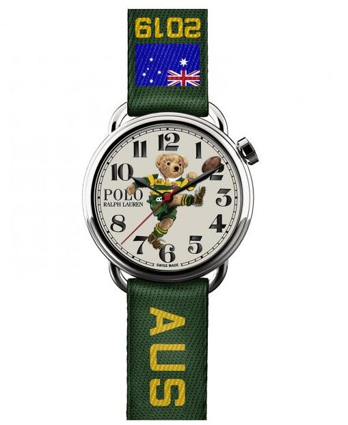 best replica Ralph Lauren Polo Kicker Bear watch 472779387001