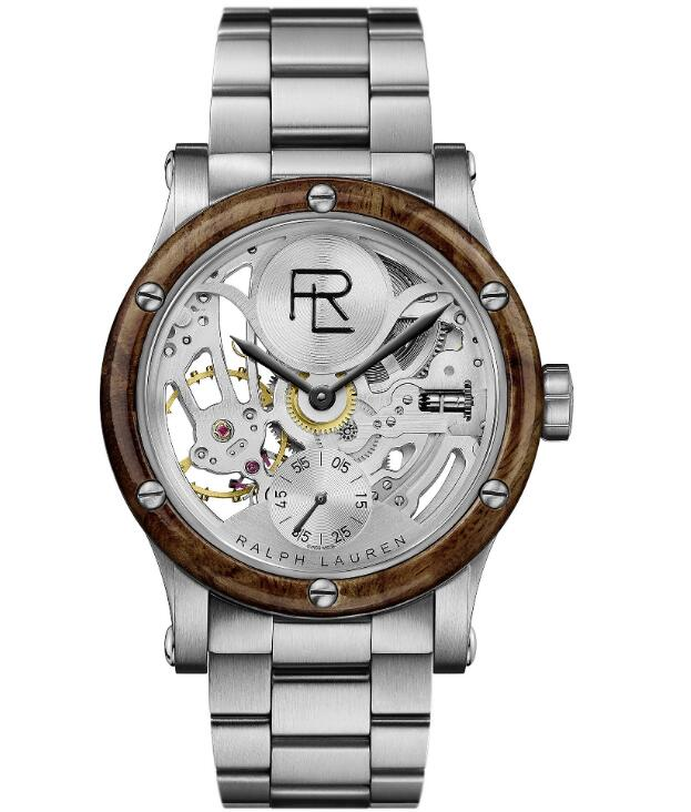 fake Ralph Lauren Automotive Skeleton Steel 45 mm RLR0220004 watches
