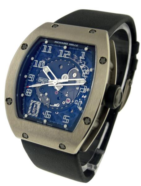Richard Mille RM 005 White Gold replica watch