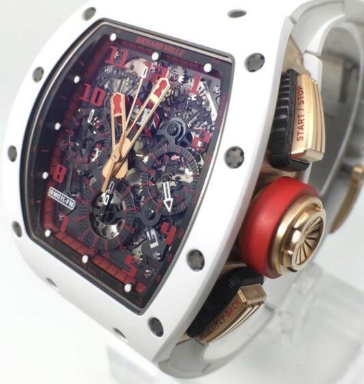 Richard Mille Replica RM 011 Flyback Chronograph White Demon watch