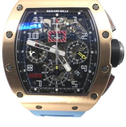 Richard Mille Replica RM 011 Rose Gold Felipe Massa Flyback Chronograph watch