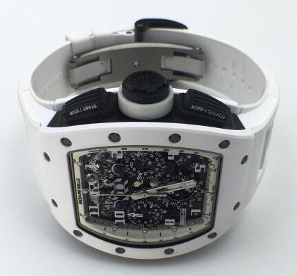 Richard Mille Replica RM 011 Flyback Chronograph White Ghost watch