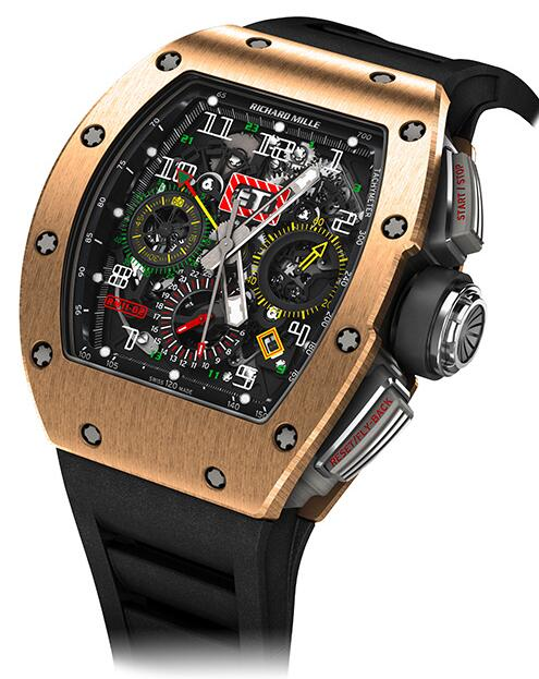 RICHARD MILLE RM 11-02 Automatic Flyback Chronograph Dual Time Zone Replica watch