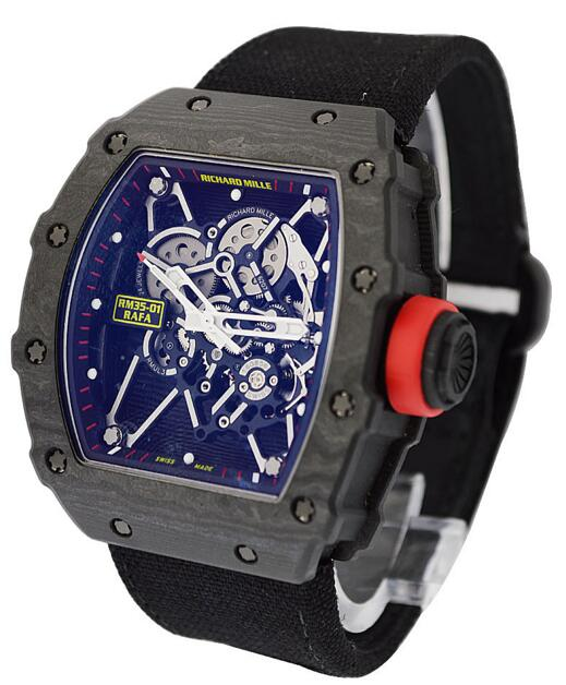 Richard Mille RM 035-01 Rafael Nadal NTPT Carbon watch fake