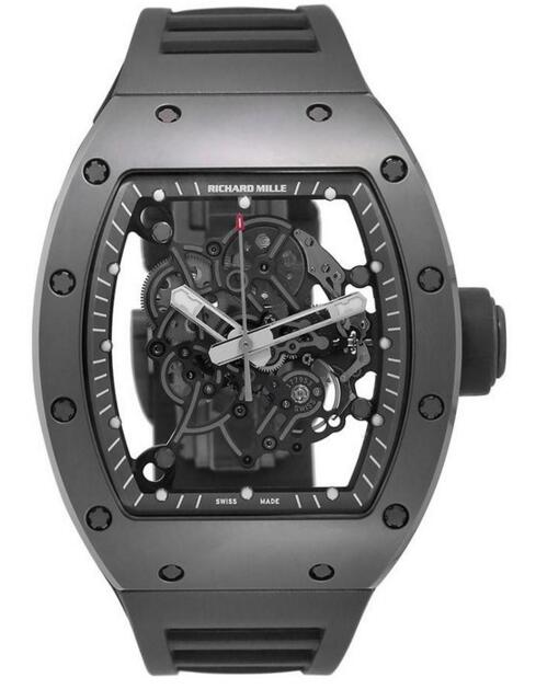 Fake Richard Mille RM 055 Bubba Watson All Grey Boutique Edition Titanium watch