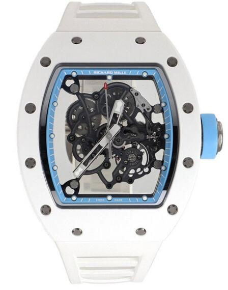 Richard Mille RM 055 Bubba Watson Asia Edition Ceramic Rubber Manual Wind Watch reviews