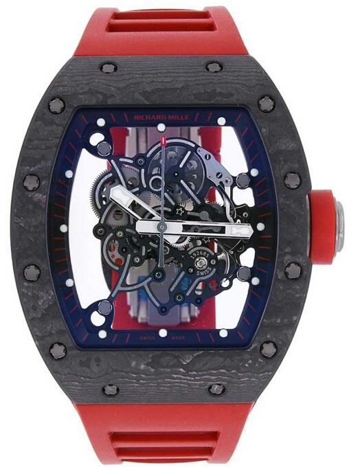 Richard Mille Bubba Watson RM 055 CA Black Ceramic and Titanium Fake watch