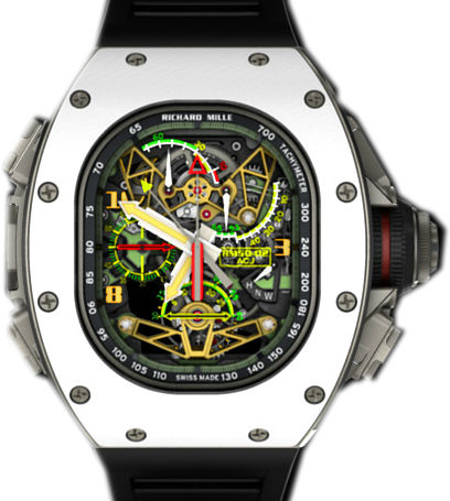 Richard Mille Replica RM 50-02 ACJ Tourbillon Split Seconds Chronograph watch