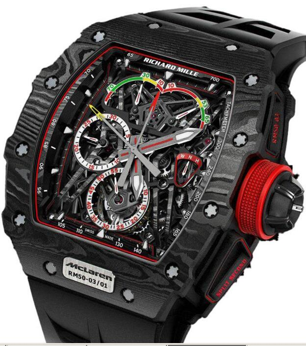 Richard Mille RM 50-03 TOURBILLON SPLIT SECS CHRONOGRAPH ULTRALIGHT Replica watch