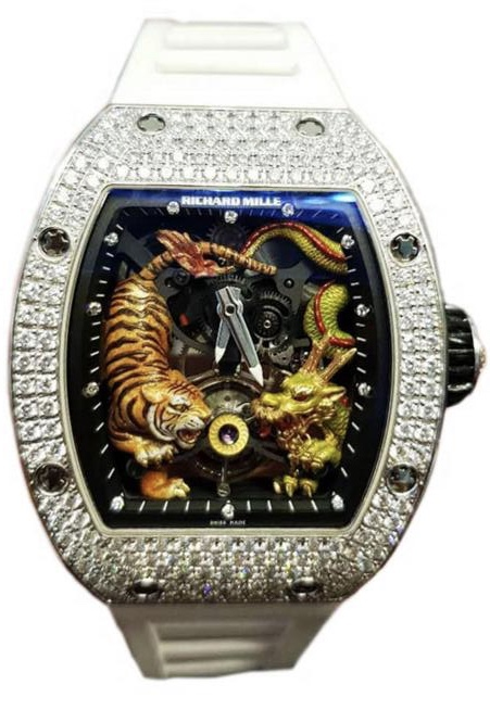 Richard Mille RM 51-01 Tiger and Dragon - Michelle Yeoh Tourbillon Watch replica