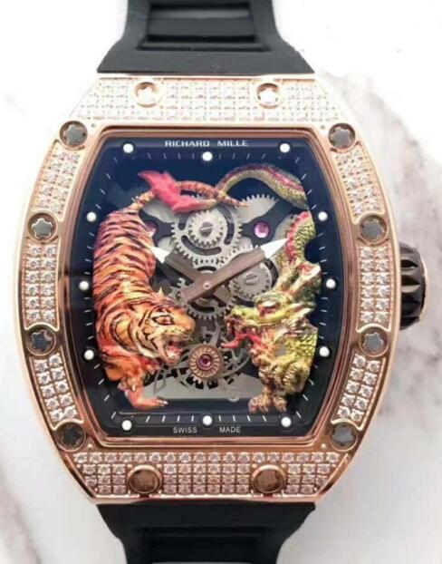 Richard Mille RM 51-01 Tiger and Dragon-Michelle Yeoh replica watch cost