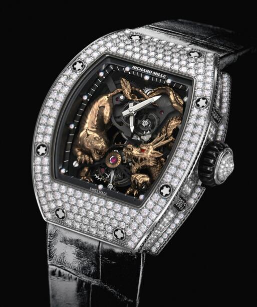 Fake Richard Mille RM 51-01 Tiger and Dragon - Michelle Yeoh watches for sale