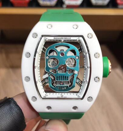 Cheap Richard Mille RM052 Skull ceramic watch prices