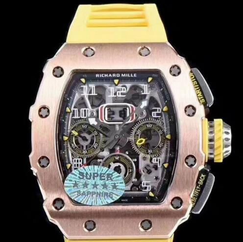 Buy Richard Mille RM 55 Bubba Watson NTPT carbon fiber replica watch