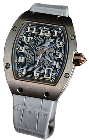 Richard Mille Replica RM 67-01 EXTRA FLAT WHITE GOLD watch