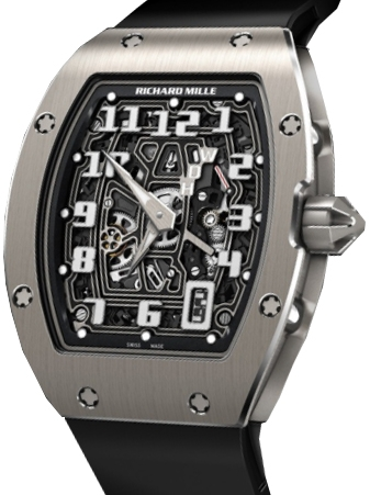 Richard Mille Replica AUTOMATIC EXTRA FLAT RM 67-01 TITANIUM watch