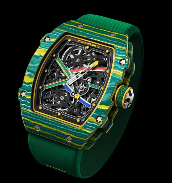 Richard Mille Replica RM 67-02 Sprint Wayde Van Niekerk watch