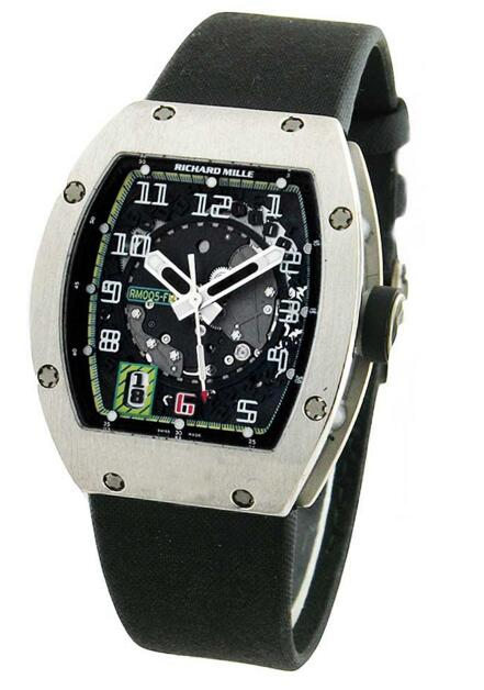 Richard Mille Replica RM 005 Felipe Massa Limited Edition in Platinum watch price