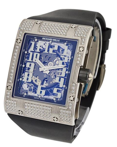 Richard Mille RM016WGFull White Gold with Diamonds watch for sale