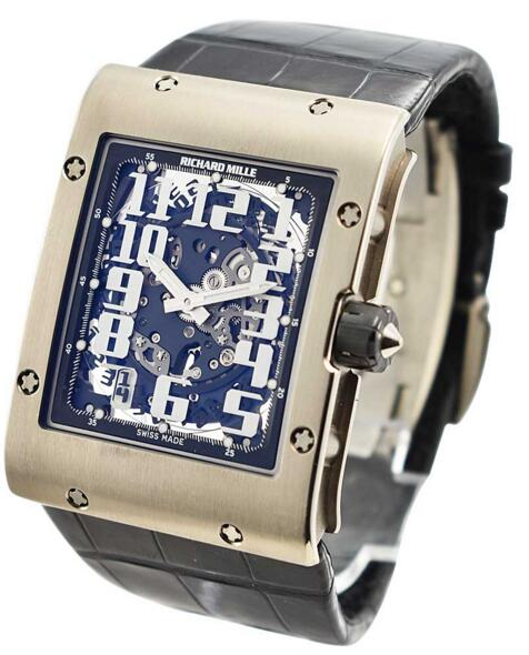 Richard Mille RM 016 White Gold Black Crocodile Strap watch review