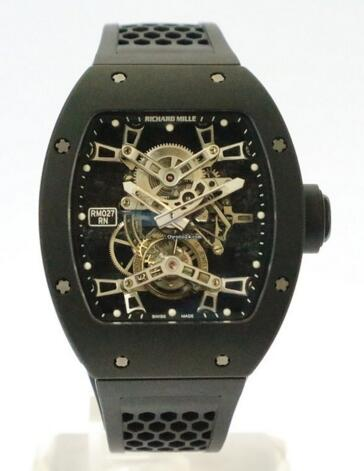 Richard Mille RM027 Rafael Nadal tourbillon Limited Edition watch clone