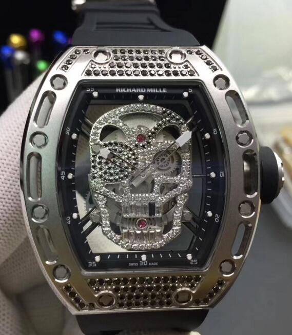 Replica Richard Miller RM052 Pirate skull watches prices