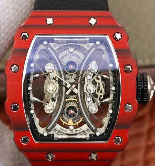 Buy Richard Mille RM53-01 TPT carbon fiber fake watches