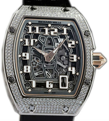 Richard Mille Replica RM67-01 EXTRA FLAT WITH DIAMOND-SET CASES AUTOMATIC watch