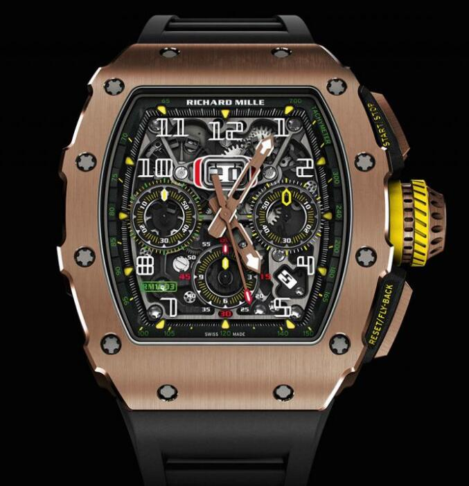 Richard Mille RM 11-03 AUTOMATIC FLYBACK CHRONOGRAPH Replica watch