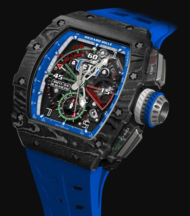 Cheapest Richard Mille RM 11-04 Automatic Flyback Chronograph Roberto Mancini replica