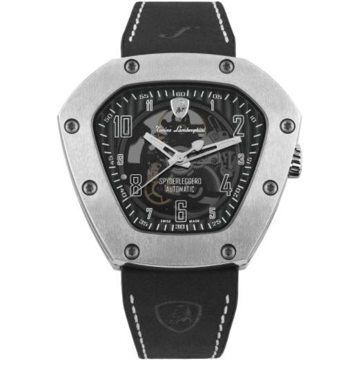 Tonino Lamborghini SPYDERLEGGERO SKELETON AUTOMATIC WATCH TLF-T06-1 Replica