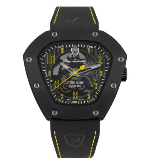 Tonino Lamborghini SPYDERLEGGERO SKELETON AUTOMATIC WATCH TLF-T06-3 Replica