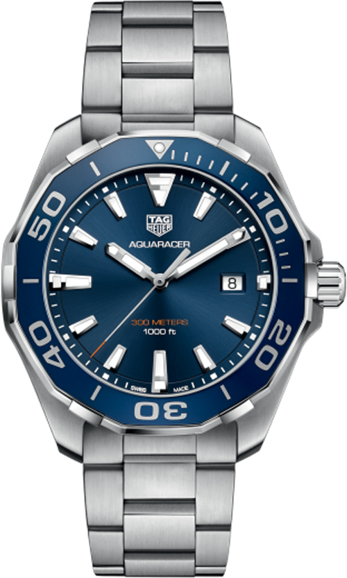 Tag Heuer Aquaracer Blue Dial Men's Watch Sale WAY101C.BA0746