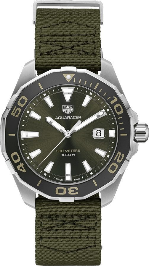 pre owned Tag Heuer Aquaracer WAY101E.FC8222 Diving watch
