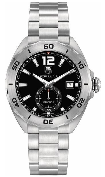 Tag Heuer formula 1 automatic Black Dial WAZ2110.BA0875 replica watch