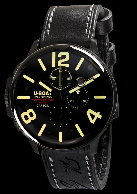 U-Boat CAPSOIL CHRONO DLC 8109 Replica watch