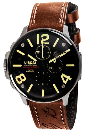 U-Boat CAPSOIL CHRONO SS 8111 Replica watch