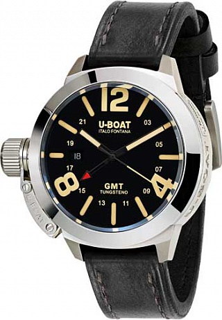 Replica U-BOAT Classico 45 BK GMT 8050 watch