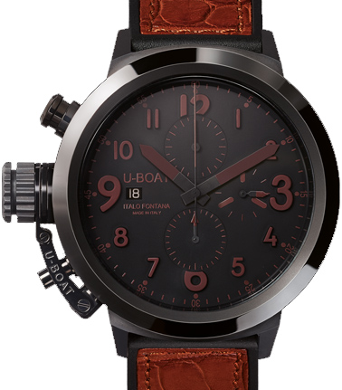 U-Boat 7094 Flightdeck Black Ceramic BK / BR-50 Replica watch