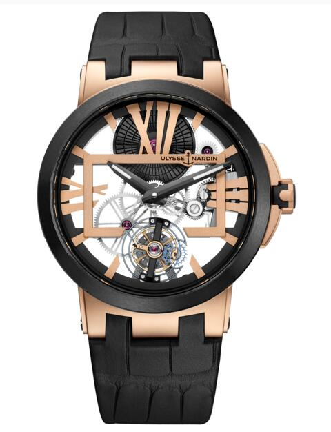 Ulysse Nardin Executive Skeleton Tourbillon 1712-139 watch strap