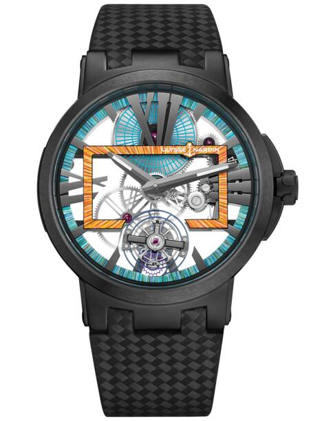 Ulysse Nardin Executive Skeleton Tourbillon Hyperspace 1713-139LE/HYPERSPACE.3 watch reviews