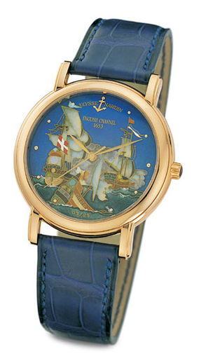 Buy replica Ulysse Nardin 136-77-9 / CHAN Classico Enamel San Marco Cloisonne English Channel watch
